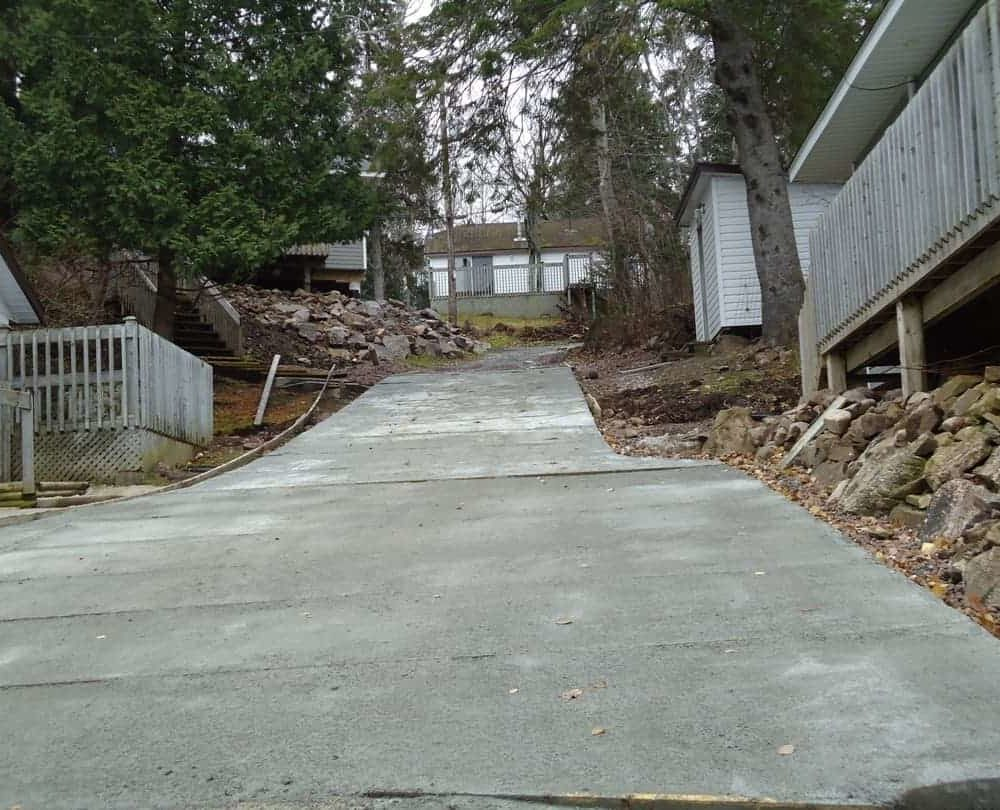 Cementing Driveway