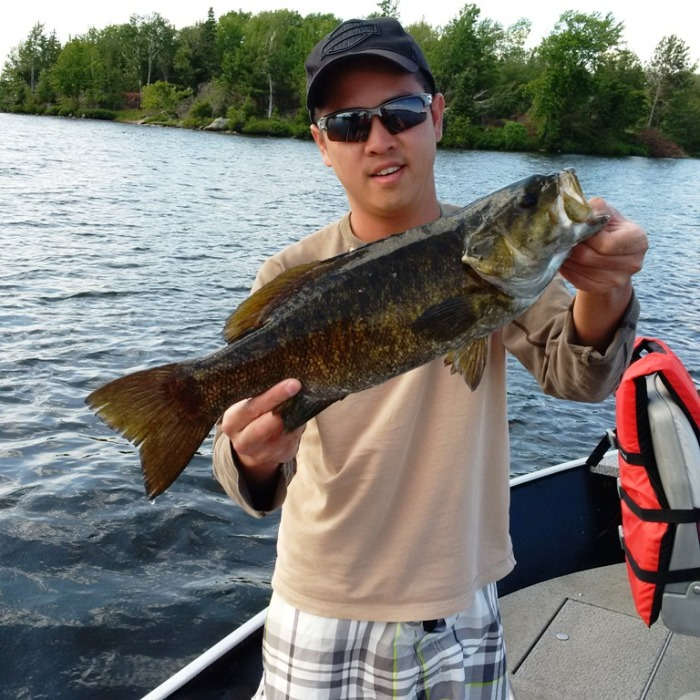 Now that's a Smallmouth Bass