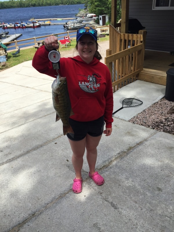 Janessa's Smallmouth Bass