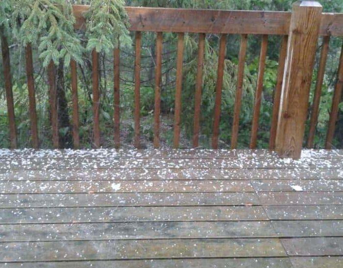 Hail?