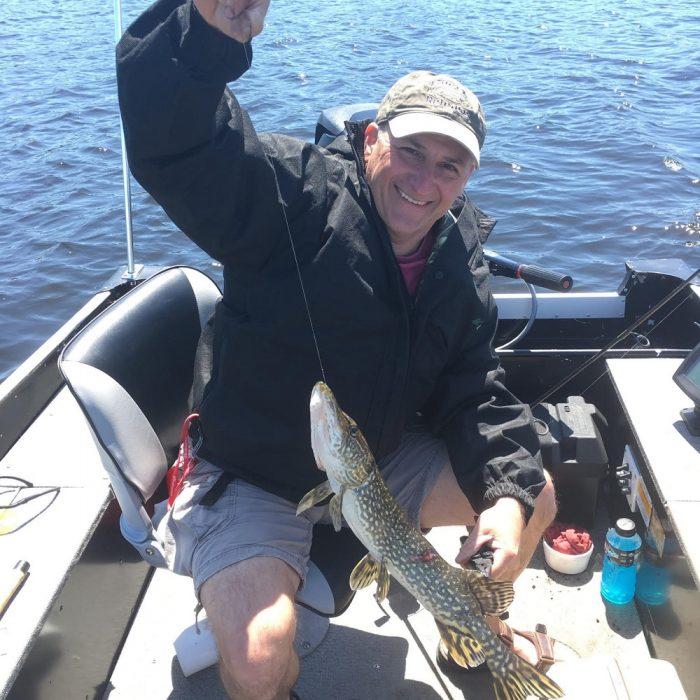 Pike caught on Lake Nipissing