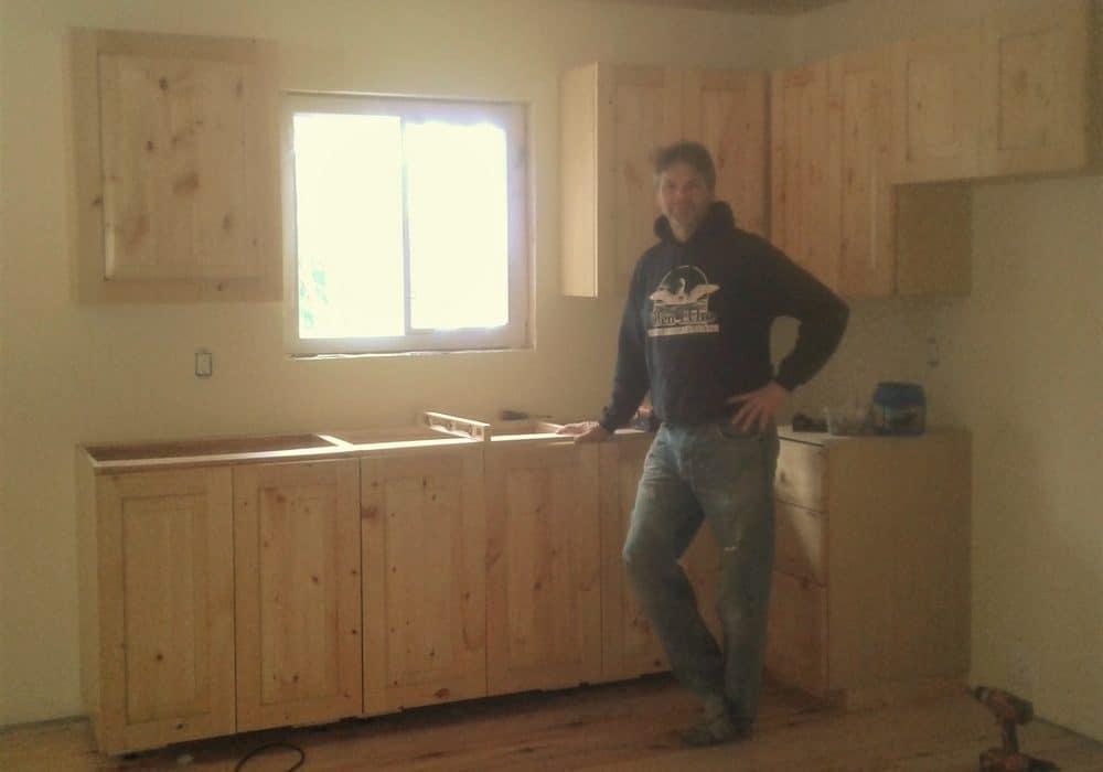 Hilltop Kitchen Installed Glen Echo Cottages