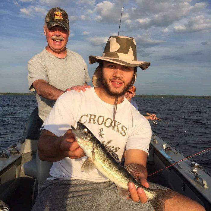Family fishing May 2020