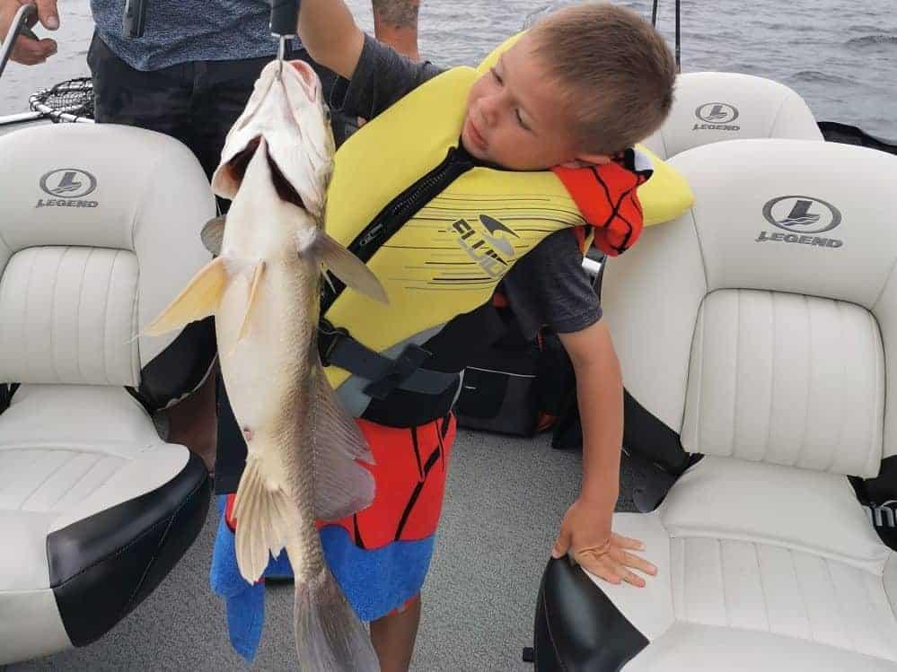Great fishing Lake Nipissing