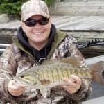 Smallmouth Bass Fishing lake Nipissing