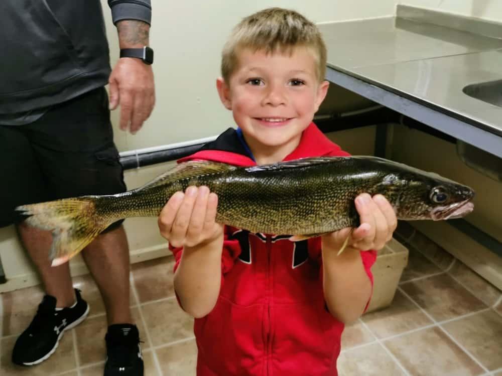 Walleye fishing Lake Nipissing
